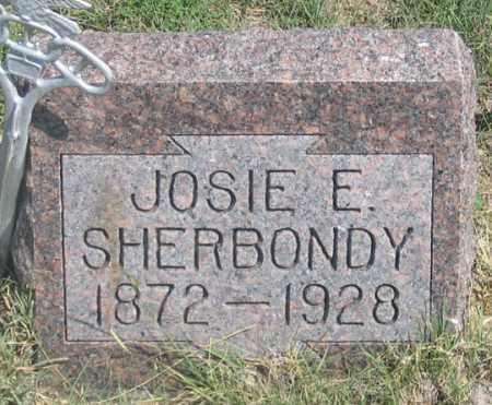 SHERBONDY, JOSIE E. - Dundy County, Nebraska | JOSIE E. SHERBONDY - Nebraska Gravestone Photos