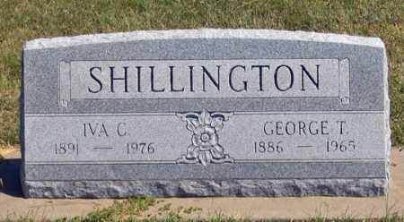 SHILLINGTON, IVA C. - Dundy County, Nebraska | IVA C. SHILLINGTON - Nebraska Gravestone Photos