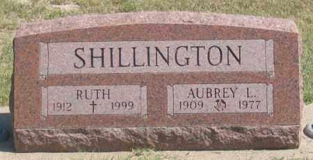 SHILLINGTON, AUBREY L. - Dundy County, Nebraska | AUBREY L. SHILLINGTON - Nebraska Gravestone Photos