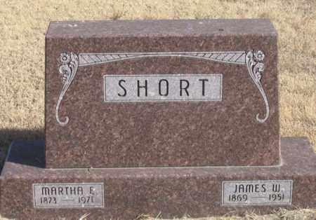 RUGGLES SHORT, MARTHA ELLA - Dundy County, Nebraska   MARTHA ELLA RUGGLES SHORT - Nebraska Gravestone Photos