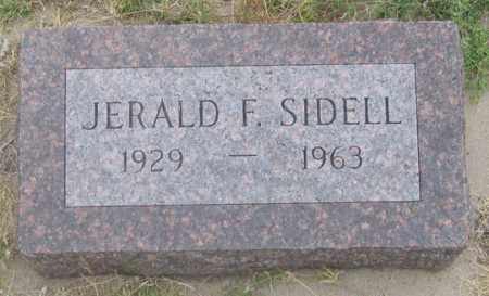 SIDELL, JERALD FRANKLIN - Dundy County, Nebraska | JERALD FRANKLIN SIDELL - Nebraska Gravestone Photos