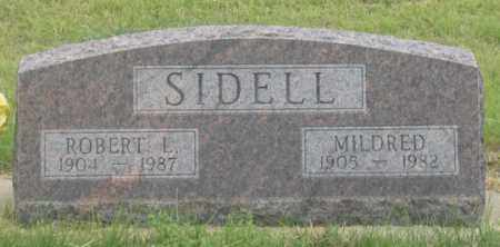 WOODWARD SIDELL, MILDRED - Dundy County, Nebraska | MILDRED WOODWARD SIDELL - Nebraska Gravestone Photos