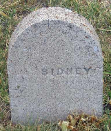 SIDNEY, UNK - Dundy County, Nebraska | UNK SIDNEY - Nebraska Gravestone Photos