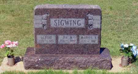 "SIGWING, MARVIN H. ""MUTT"" - Dundy County, Nebraska 