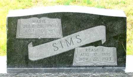 SIMS, REASE E. - Dundy County, Nebraska | REASE E. SIMS - Nebraska Gravestone Photos
