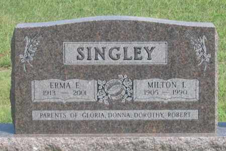 JOBBINS SINGLEY, ERMA F. - Dundy County, Nebraska | ERMA F. JOBBINS SINGLEY - Nebraska Gravestone Photos