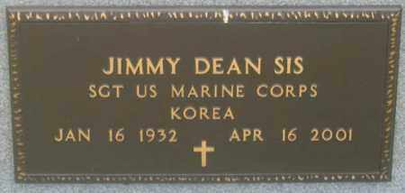 SIS, JIMMY DEAN - Dundy County, Nebraska | JIMMY DEAN SIS - Nebraska Gravestone Photos