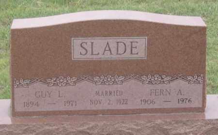 """SLADE, LESTER """"GUY"""", SR. - Dundy County, Nebraska   LESTER """"GUY"""", SR. SLADE - Nebraska Gravestone Photos"""