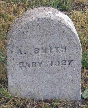 SMITH, A. BABY 1927 - Dundy County, Nebraska   A. BABY 1927 SMITH - Nebraska Gravestone Photos