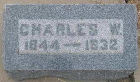 SMITH, CHARLES W. - Dundy County, Nebraska | CHARLES W. SMITH - Nebraska Gravestone Photos