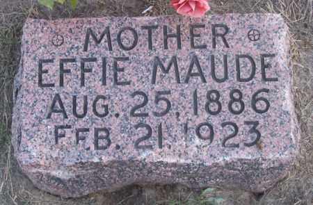 SMITH, EFFIE MAUDE - Dundy County, Nebraska | EFFIE MAUDE SMITH - Nebraska Gravestone Photos