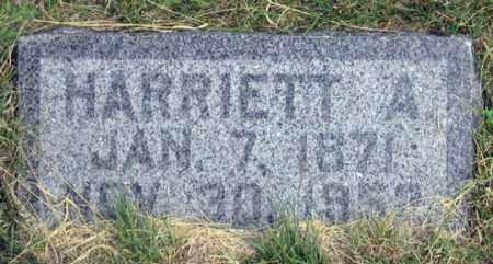 SMITH, HARRIETT A. - Dundy County, Nebraska | HARRIETT A. SMITH - Nebraska Gravestone Photos