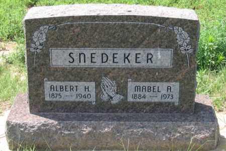 KENNEDY SNEDEKER, MABEL A. - Dundy County, Nebraska   MABEL A. KENNEDY SNEDEKER - Nebraska Gravestone Photos