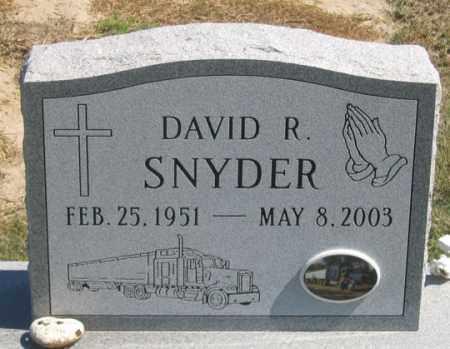 SNYDER, DAVID R. - Dundy County, Nebraska | DAVID R. SNYDER - Nebraska Gravestone Photos
