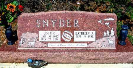 SNYDER, KATHLEEN A. - Dundy County, Nebraska   KATHLEEN A. SNYDER - Nebraska Gravestone Photos