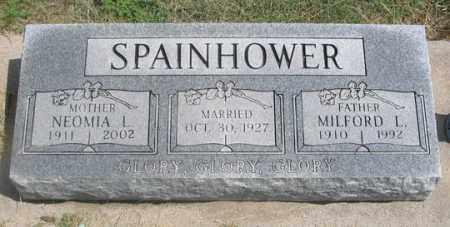 SPAINHOWER, MILFORD L. - Dundy County, Nebraska   MILFORD L. SPAINHOWER - Nebraska Gravestone Photos