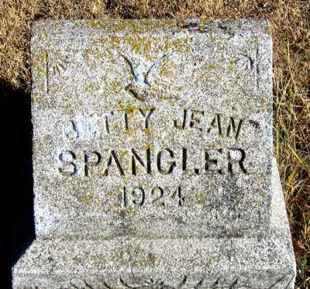 SPANGLER, BETTY JEAN - Dundy County, Nebraska | BETTY JEAN SPANGLER - Nebraska Gravestone Photos