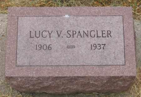 "SPANGLER, LUCILE VELMA ""LUCY"" - Dundy County, Nebraska | LUCILE VELMA ""LUCY"" SPANGLER - Nebraska Gravestone Photos"