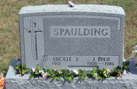 SCHUTTE SPAULDING, LUCILLE J. - Dundy County, Nebraska | LUCILLE J. SCHUTTE SPAULDING - Nebraska Gravestone Photos