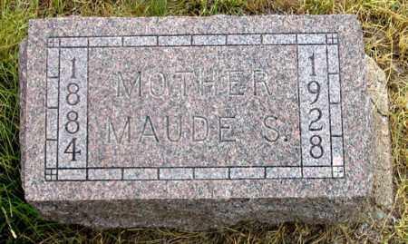 BURKETT SPEARS, MAUDE S. - Dundy County, Nebraska | MAUDE S. BURKETT SPEARS - Nebraska Gravestone Photos