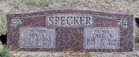 SPECKER, CARL A. - Dundy County, Nebraska | CARL A. SPECKER - Nebraska Gravestone Photos