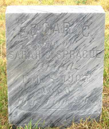 SPRAGUE, EDGAR CHARLES - Dundy County, Nebraska | EDGAR CHARLES SPRAGUE - Nebraska Gravestone Photos
