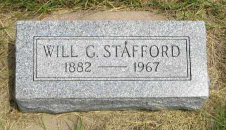 STAFFORD, WILL G. - Dundy County, Nebraska | WILL G. STAFFORD - Nebraska Gravestone Photos