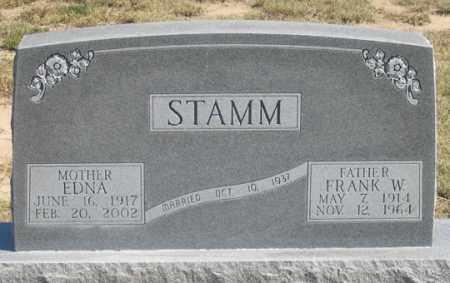 STAMM, FRANK W. - Dundy County, Nebraska   FRANK W. STAMM - Nebraska Gravestone Photos