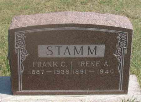 STAMM, FRANK C. - Dundy County, Nebraska | FRANK C. STAMM - Nebraska Gravestone Photos