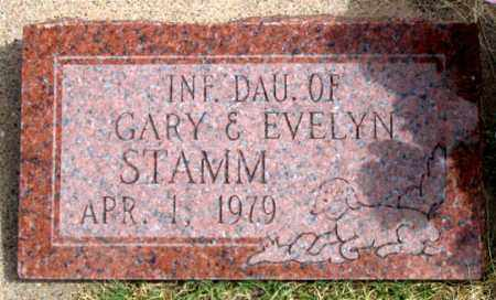 STAMM, INFANT DAUGHTER - Dundy County, Nebraska | INFANT DAUGHTER STAMM - Nebraska Gravestone Photos