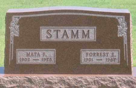 STAMM, FORREST E. - Dundy County, Nebraska | FORREST E. STAMM - Nebraska Gravestone Photos