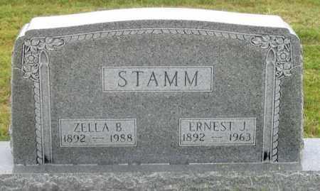 STAMM, ZELLA B. - Dundy County, Nebraska   ZELLA B. STAMM - Nebraska Gravestone Photos