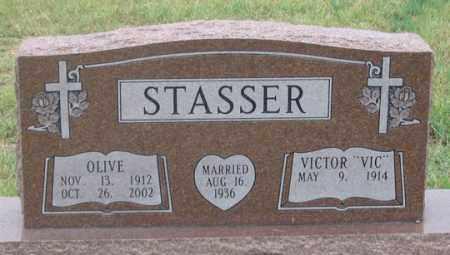 STASSER, OLIVE - Dundy County, Nebraska | OLIVE STASSER - Nebraska Gravestone Photos