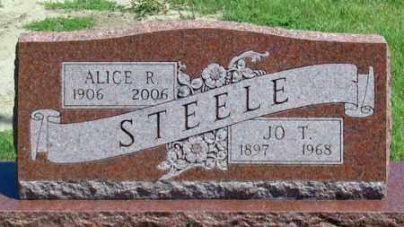 STEELE, JOE T. - Dundy County, Nebraska   JOE T. STEELE - Nebraska Gravestone Photos