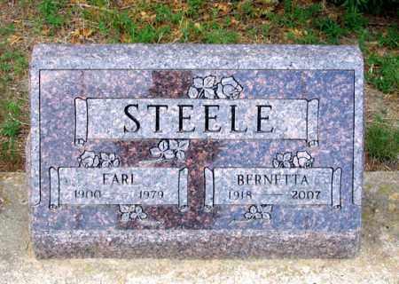 STEELE, BERNETTA - Dundy County, Nebraska | BERNETTA STEELE - Nebraska Gravestone Photos