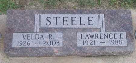 STEELE, VELDA R. - Dundy County, Nebraska   VELDA R. STEELE - Nebraska Gravestone Photos