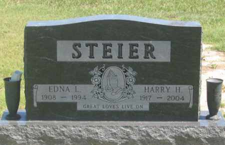 STEIER, EDNA L. - Dundy County, Nebraska   EDNA L. STEIER - Nebraska Gravestone Photos