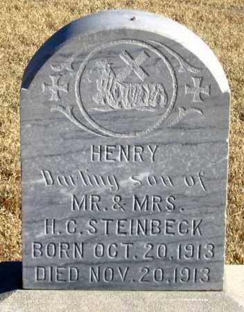 STEINBECK, HENRY - Dundy County, Nebraska | HENRY STEINBECK - Nebraska Gravestone Photos