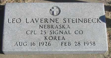 STEINBECK, LEO LAVERNE - Dundy County, Nebraska   LEO LAVERNE STEINBECK - Nebraska Gravestone Photos