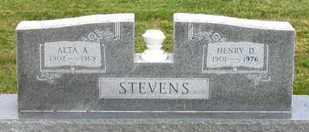 STEVENS, ALTA A. - Dundy County, Nebraska | ALTA A. STEVENS - Nebraska Gravestone Photos