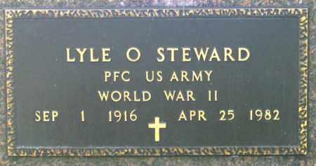 STEWARD, LYLE O. - Dundy County, Nebraska   LYLE O. STEWARD - Nebraska Gravestone Photos