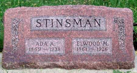 STINSMAN, ADA A. - Dundy County, Nebraska | ADA A. STINSMAN - Nebraska Gravestone Photos
