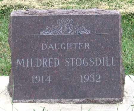 STOGSDILL, MILDRED - Dundy County, Nebraska | MILDRED STOGSDILL - Nebraska Gravestone Photos
