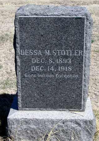 MUIR STOTLER, DESSA M. - Dundy County, Nebraska | DESSA M. MUIR STOTLER - Nebraska Gravestone Photos