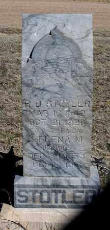 MARROW STOTLER, HELENA M. - Dundy County, Nebraska | HELENA M. MARROW STOTLER - Nebraska Gravestone Photos