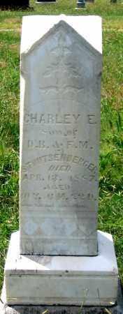 STOUTSENBERGER, CHARLIE E. - Dundy County, Nebraska   CHARLIE E. STOUTSENBERGER - Nebraska Gravestone Photos