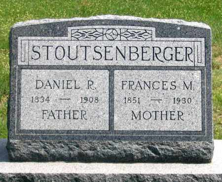 STOUTSENBERGER, DANIEL R. - Dundy County, Nebraska | DANIEL R. STOUTSENBERGER - Nebraska Gravestone Photos