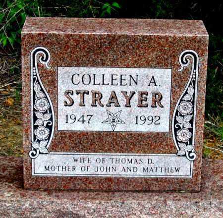 STRAYER, COLLEEN A. - Dundy County, Nebraska | COLLEEN A. STRAYER - Nebraska Gravestone Photos