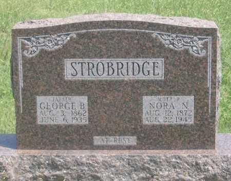 STROBRIDGE, GEORGE B. - Dundy County, Nebraska | GEORGE B. STROBRIDGE - Nebraska Gravestone Photos