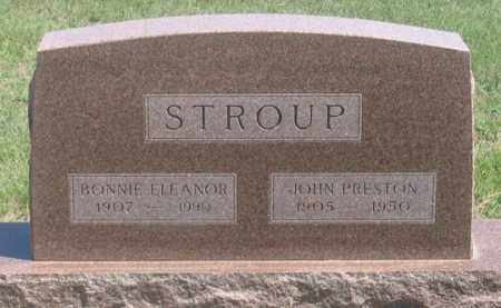 STROUP, BONNIE ELEANOR - Dundy County, Nebraska | BONNIE ELEANOR STROUP - Nebraska Gravestone Photos